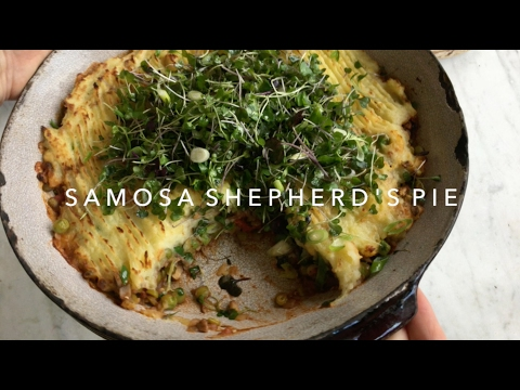 Make Ahead VEGAN Samosa Shepherd's Pie