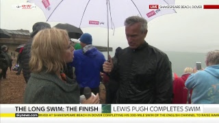 Long Swim: Lewis Pugh completes 530km challenge