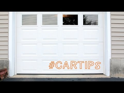 Easy Garage Parking Tip