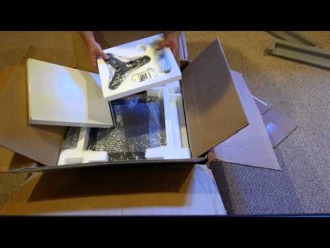 Unboxing of yamaha rx-z11 home theater receiver