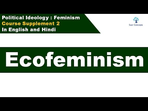 Course Supplement 2 : Ecofeminism