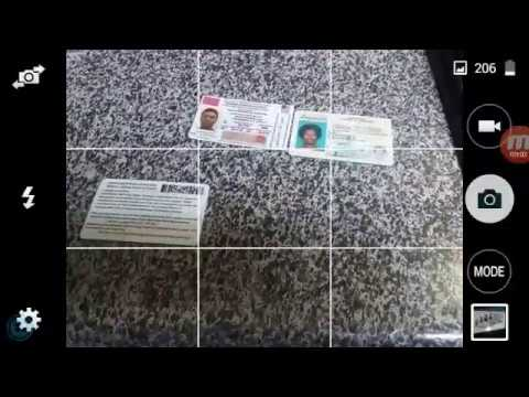 Nationality card barcode test: State ID vs Nationality Card