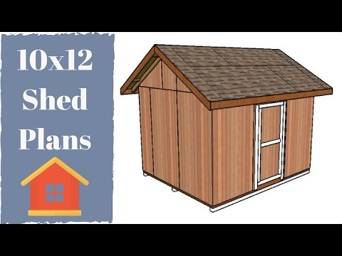 10x12 Shed Plans Free