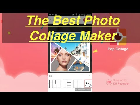 The Best Photo Collage Maker for Android: Pop Collage - DU Collage! App Review By DU Screen Recorder