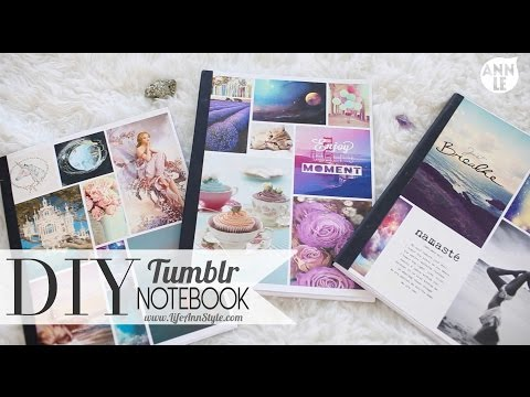 DIY Tumblr Notebook Back To School Hack | ANN LE