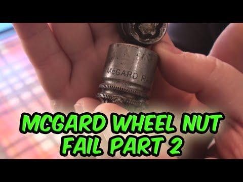 McGard Locking Wheel Nut Fail, Part 2 HowTo Remove