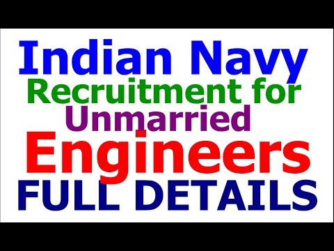 Indian Navy Recruitment 2017 for Engineering Graduates