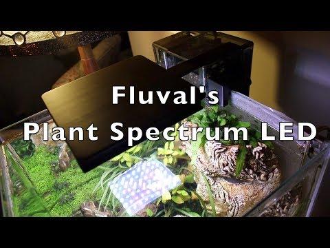 New Nano LED Plant Spectrum light from Fluval