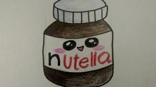 desenhos faceis de desenhar como desenhar nutella fofa music jinni