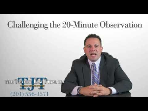 How to beat a DWI - Best NJ DWI Lawyer Defenses and Tricks - 20 Minute Observation