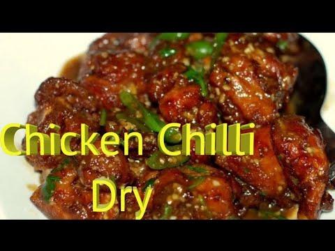 Chicken Chilli Dry recipe by Deepa khurana 3.1 Millions + Views