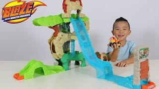BLAZE And The Monster Machine Toys Animal Island Stunts Speedway Playset Ckn Toys