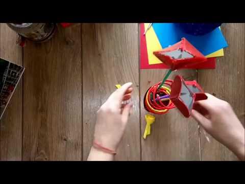 DIY Valentine 3D heart decoration tutorial