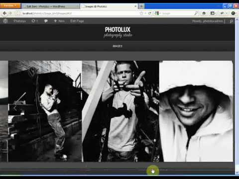 Photolux Themes Tutorial - Creating Grid Gallery (Pinterest Layout Style)