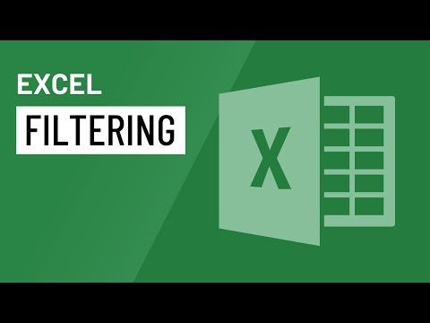 Excel 2016: Filtering