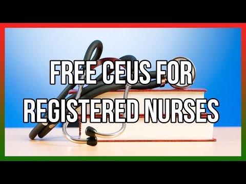 Free CEUS For Registered Nurses