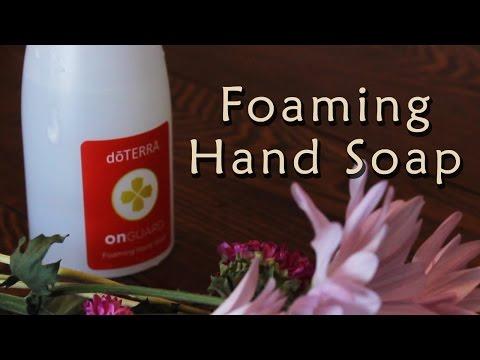 How To Make Chemical Free Homemade Liquid Foaming Hand Soap - Essential Oils