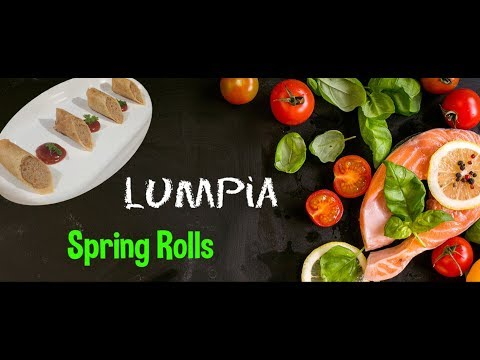 Spring Rolls Recipe | Pork Mince Wrapped in Pastry | Lumpia Shanghai