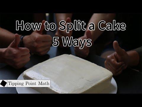 How to Split a Cake 5 Ways