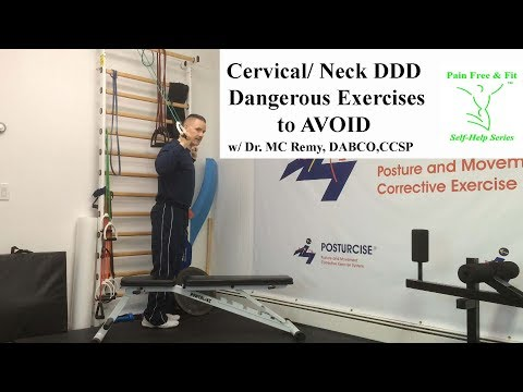 Cervical Degenerative Disc Disease Exercises to Avoid