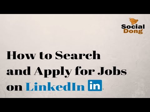 LinkedIn Job Search [2018] : Learn how to search and apply for Jobs on LinkedIn