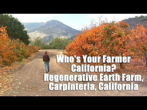 Who's Your Farmer? California - Regenerative Earth Farm, Carpinteria