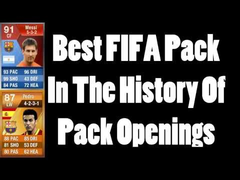 BEST FIFA ULTIMATE TEAM PACK IN THE HISTORY!