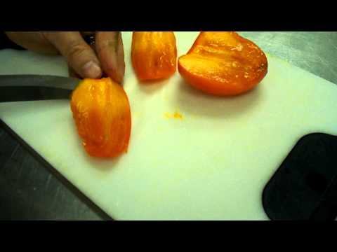 Persimmon - peel and eat