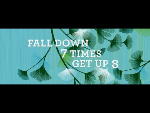 Fall Down 7 Times Get Up 8 - writing with autism