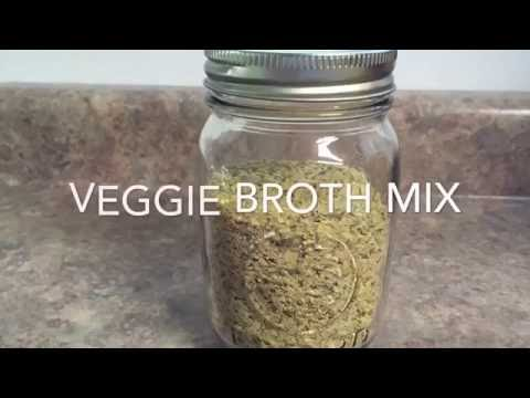 Veggie Broth Mix Recipe!