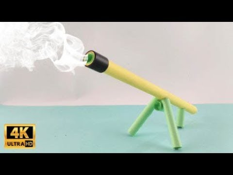 How to Make Mini Cannon from Paper