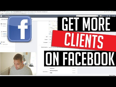 HOW TO get MORE CLIENTS with FACEBOOK AD's