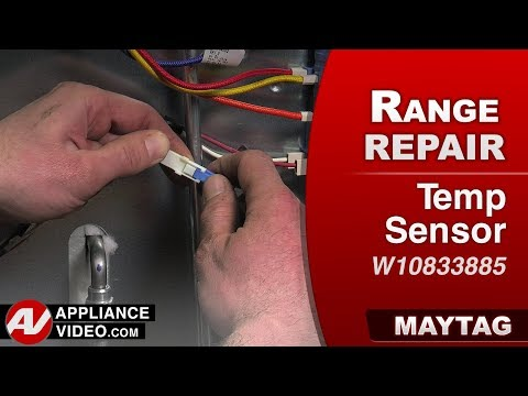 Maytag Range - Oven - Temperature Sensor Diagnostic & Repair