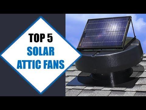 Top 5 Best Solar Attic Fans 2018 | Best Solar Attic Fan Review By Jumpy Express