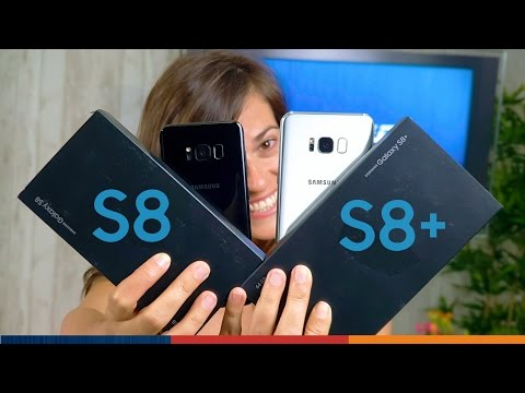 ¡UNBOXING GALAXY S8 y S8 PLUS!