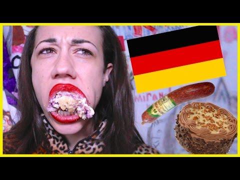 TASTING GERMAN FOODS