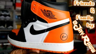 official photos cd93a 5f2bb Friends   Family Exclusive 1 of 1 Fragment x Air Jordan 1 Shattered  Backboard by