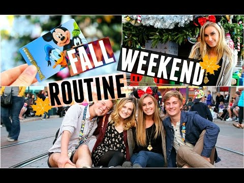 Fall Weekend Routine 2015 // A Perfect Day in My Life!