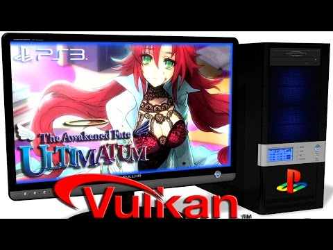 RPCS3  Playstation 3 Emulator - The Awakened Fate: Ultimatum (2015). Gameplay. Vulkan api. Test #1