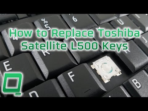 How to Replace Toshiba Satellite L500 Keys