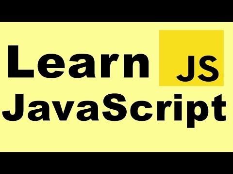 Learn JavaScript (Tutorial 6)