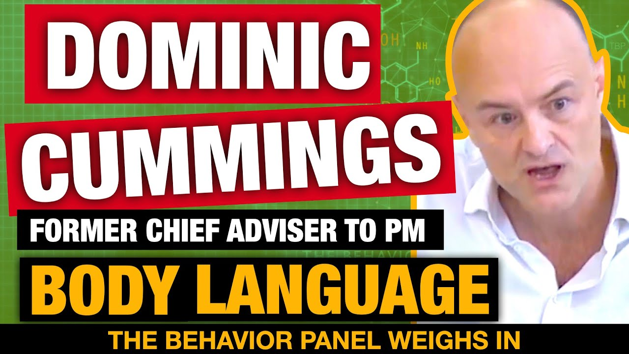 Dominic Cummings Committee Body Language: Boris Johnson, Carrie Symonds, Matt Hancock Claims