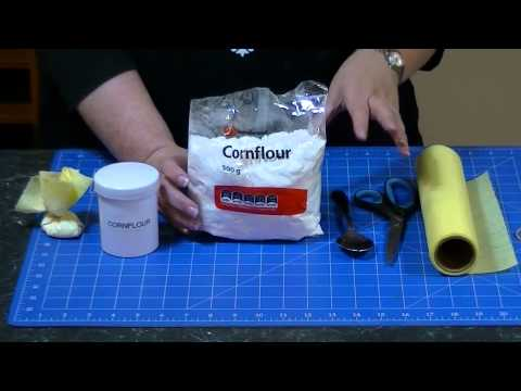 How to Make a Cornflour Dusting Bag