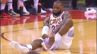 LeBron James Every Injury In Career (Rare Compilation)