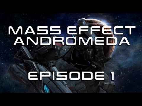 Mass Effect Andromeda - EP 1 - Our First coffee in 600 years!