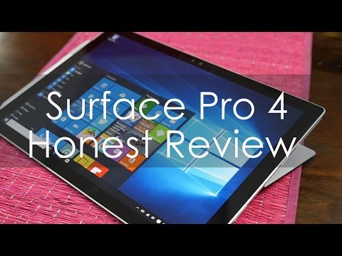 Honest Long Term Review for Microsoft Surface Pro 4 - Vlog Style