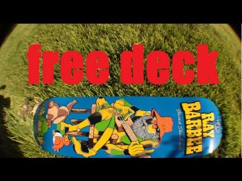 HOW TO get a FREE SKATE DECK