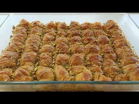 Easy Baklava Recipe - طرز تهیه باقلوا