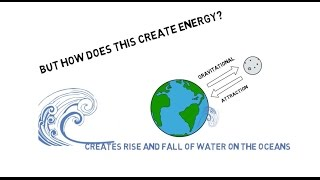 How does Tidal energy work?