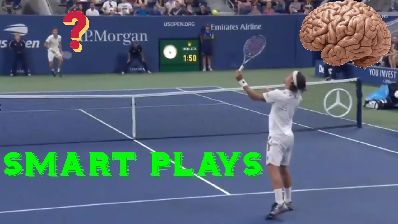 The Most Creative &  Smart Plays In Tennis